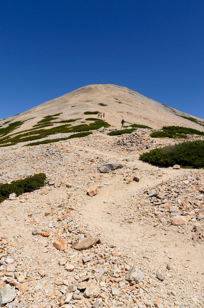 20130812 薬師岳山頂へ