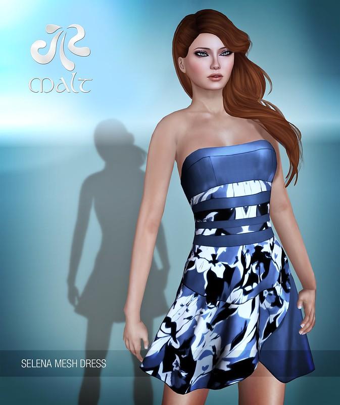 .:MALT:. Mesh - Selena Dress