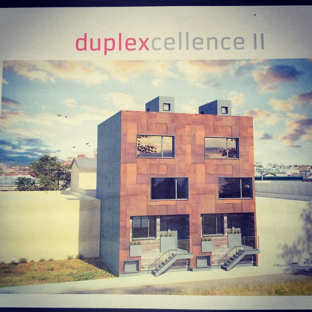 #Duplexcellence 2 first time seen at #GreenfestPhilly. 8 more duplex units starting in $200's and designed by #ManifestAD. #SouthKensington