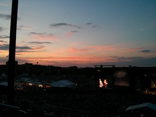 ICVF at sunset