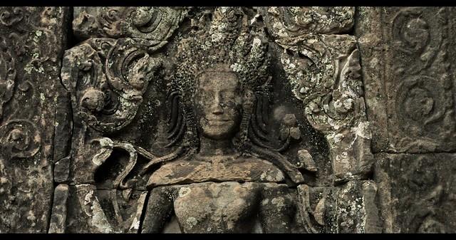 Temple Bayon, Cambodia