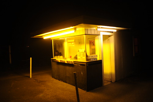 Jericho Drive-In ticket booth