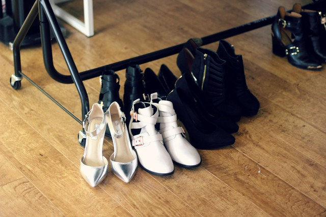 Miss Selfridge The Collective Shoot Shoes