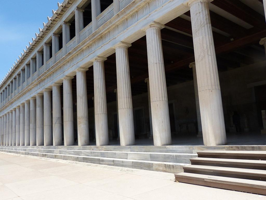 Stoa, Ancient Agora of Athens