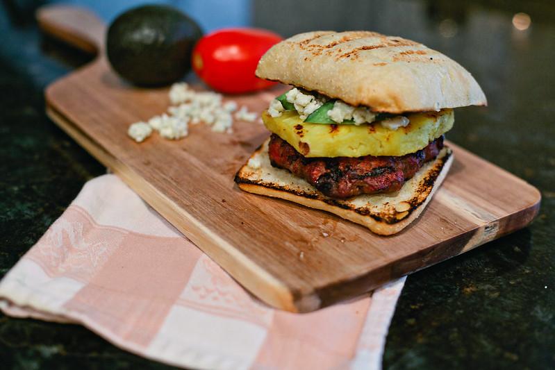Caribbean Bleu Burgers on Fresh Mommy Blog