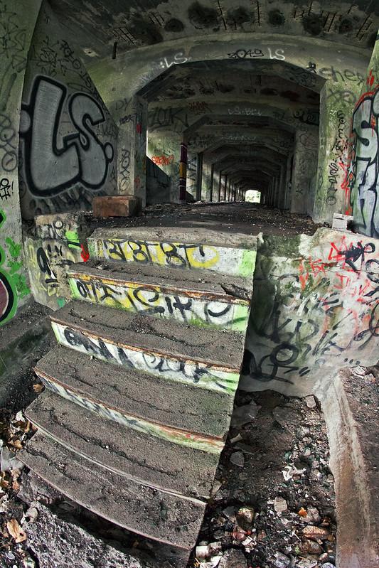 Escalier bombé