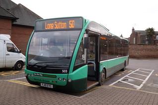 Norfolk Green 503 YJ10EYC