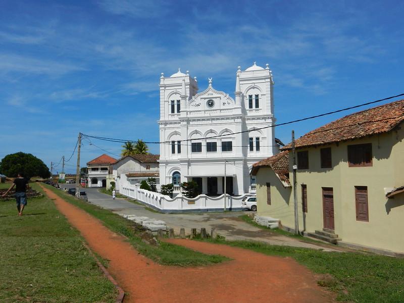 Галле, Шри Ланка. Собор