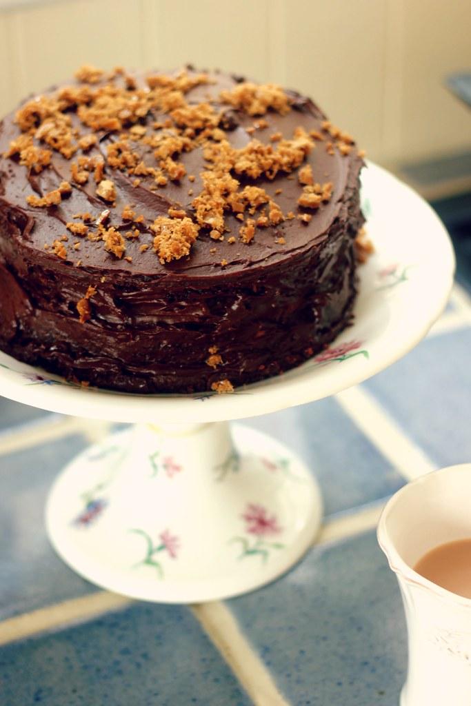 Gizzi Erskine Earl Grey Fudge Cake