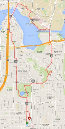 Today's awesome walk, 6.32 miles in two hours by christopher575