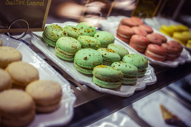 Macarons at TC Paris Pâtisserie