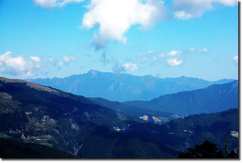 雪山(From奇萊稜線主、北岔路)