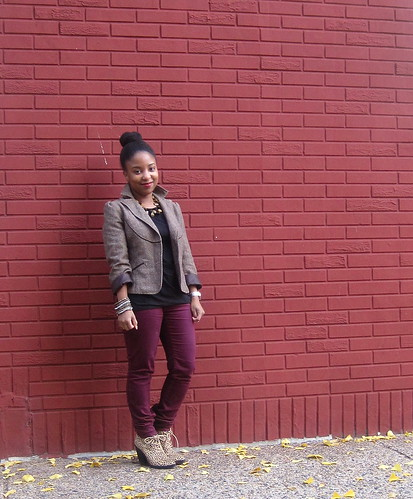 maroon and tweed 1