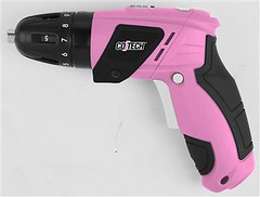 Pink Ribbon Drill for October from Clas Ohlson 2011