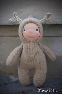 Clarice - a 9 inch Waldorf Inspired Reindeer