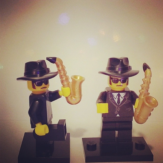 Blues Brothers Mini Legos