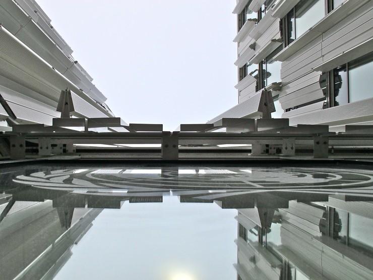 UN City, Copenhagen shutters