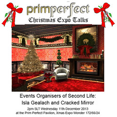"Prim Perfect ""Christmas Expo Talks"" on Wednesday, Dec22"