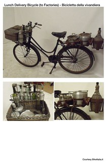 Cargo Bike History: Lunch Delivery Bicycle - to Factories