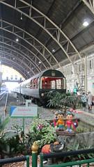 Eastern & Oriental Express train at Hua Lamphong station