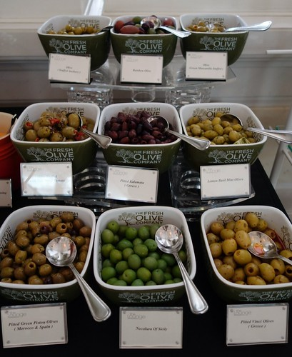 Olives at InterContinental Singapore's Champagne Brunch