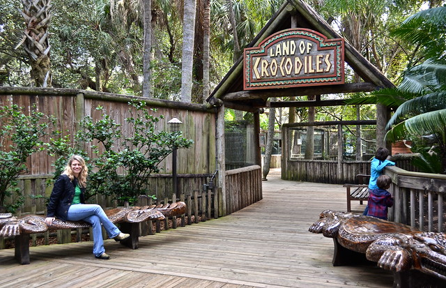 land of crocs at st. augustine zoo