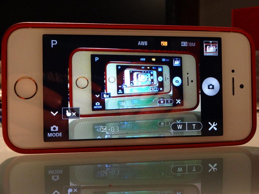 iPhone Selfie -  SonyQX10