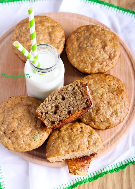 Wholewheat muffins