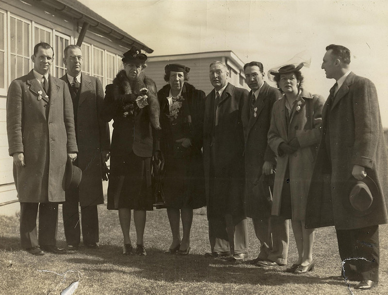 Eleanor Roosevelt visits UConn