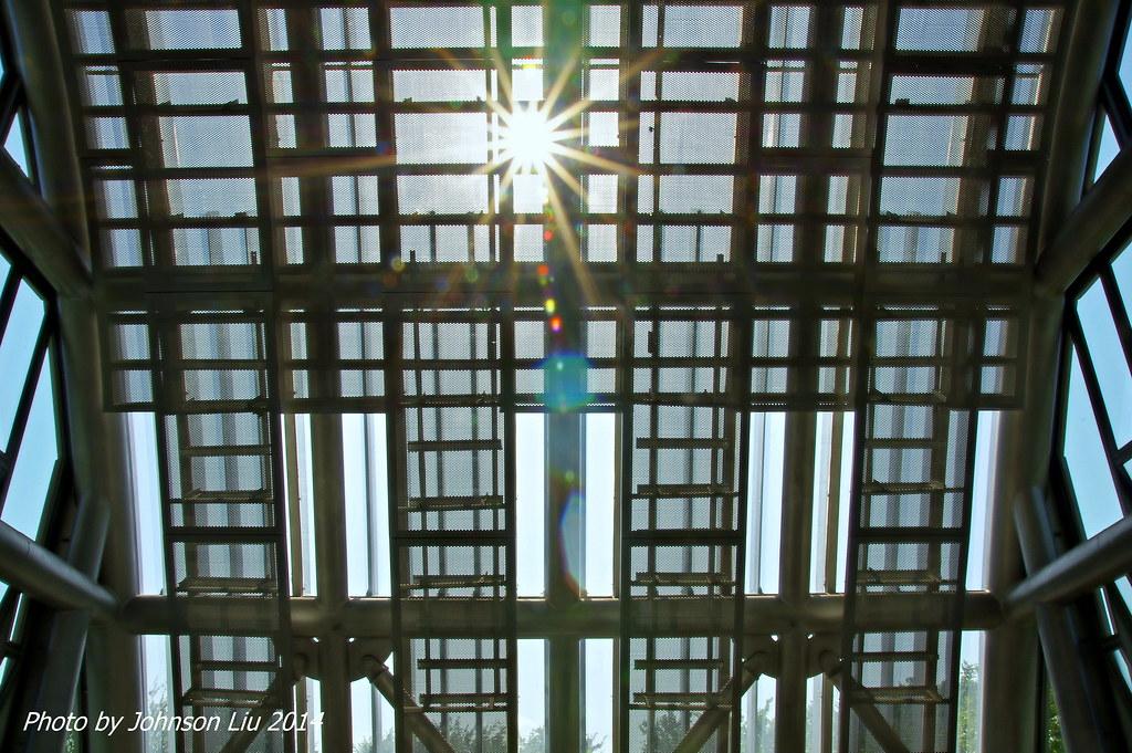 陽光下的大安森林公園站