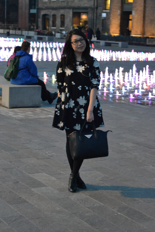 Daisybutter - UK Style and Fashion Blog: what i wore, how to wear smock dresses, british fashion, british fashion blogger, ever ours, topshop