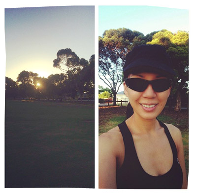 6km run - 5:30am