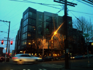 The Blue Hour:  Chloe Apartments, Pike/Pine Seattle WA