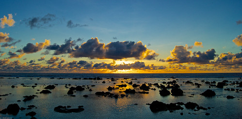 world ocean travel sea sky sun rock clouds sunrise island dawn republic pacific earth south country nation 3rd pleasant pinnacle smallest phosphate nauru thrid