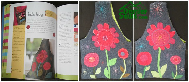 Heartfelt tote collage
