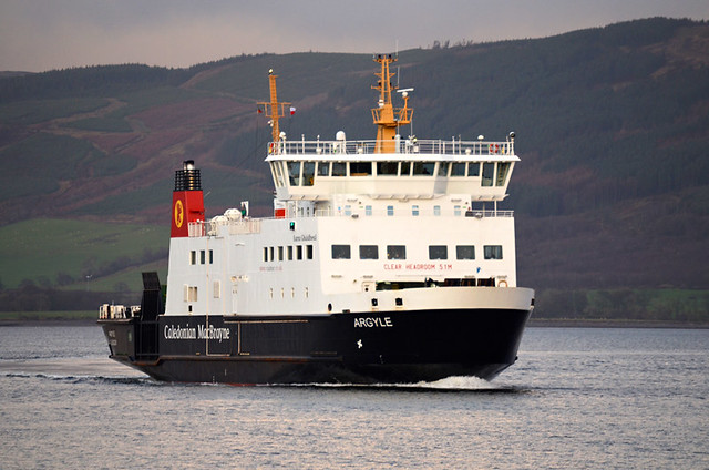 Cal Mac Ferry, Island of Bute, Scotland