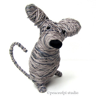 Mouse String Sculpture