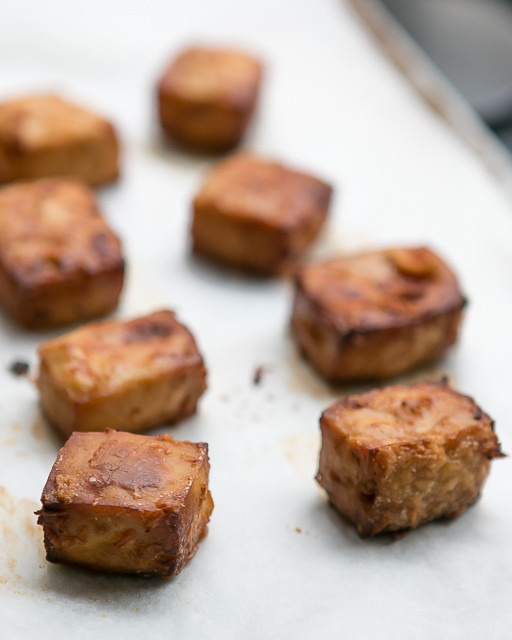 Baked Marinated Tofu Recipe-9