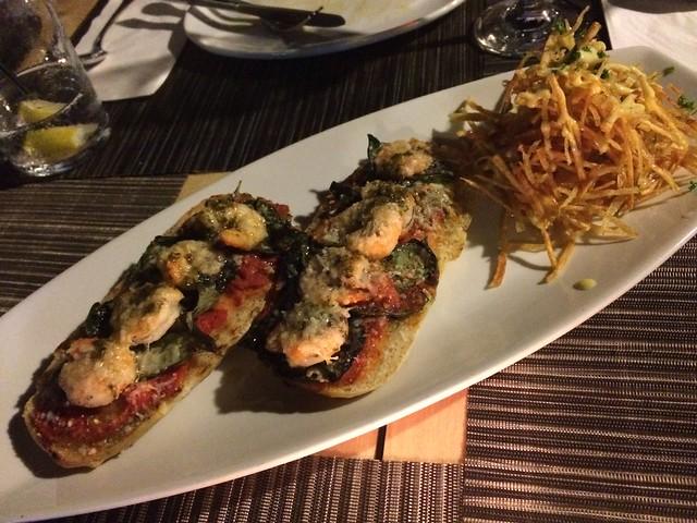 Shrimp tostas - Cozina