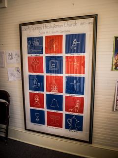 Liberty Springs Presbyterian Quilt