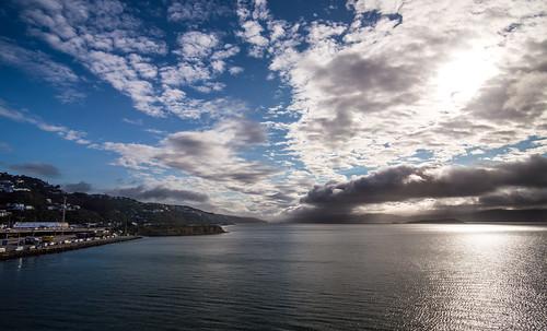 newzealand sunrise wellington