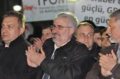 Промотивен митинг на претседатескиот кандидат на ГРОМ во Гостивар