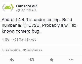 Что нового в Android 4.4.3