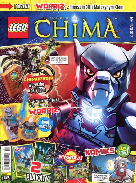 LEGO Legends of Chima Oficjalny Magazyn 2014-04 01