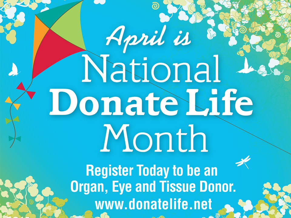 Donate Life Month image