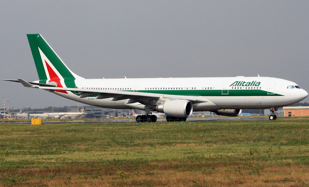 EI-EJP - A332 - Alitalia