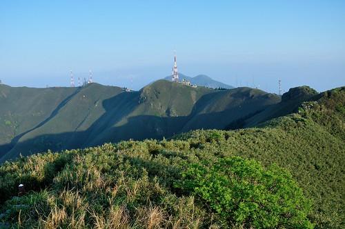 小觀音山火山口