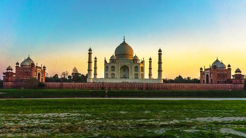 sunset india heritage monument architecture delhi ngc taj tajmahal agra mughalempire