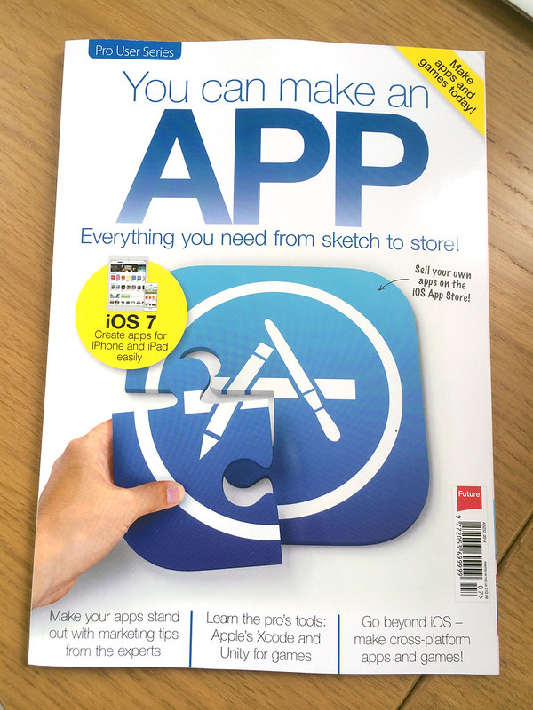 You can make an app - front cover