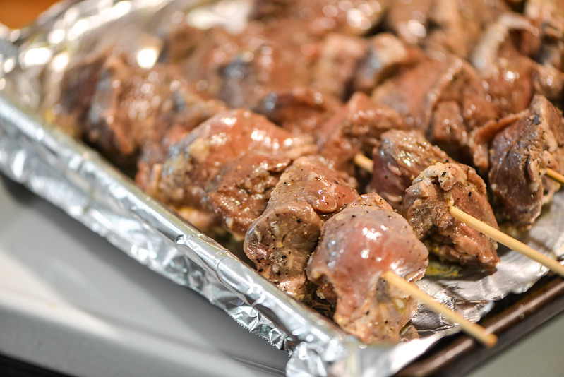 Herb-crusted Lamb Skewers